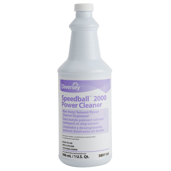 Diversey DRK 4223320 Speedball 2000 32 oz. Power Cleaner - 12/Case
