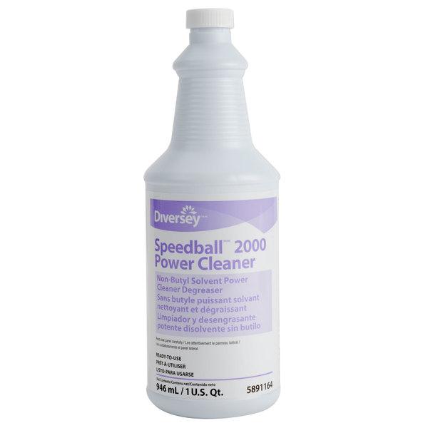 Diversey Speedball 2000 32 oz. Power Cleaner - 12/Case