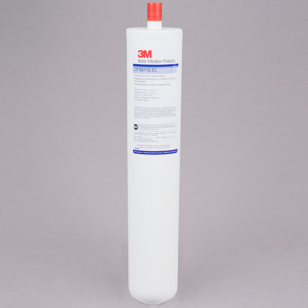 """3M Water Filtration Products CFS8112EL 17 1/8"""" Replacement Sediment, Chlorine Taste and Odor Reduction Cartridge - 1 Micron and 1.67 GPM Main Image 1"""