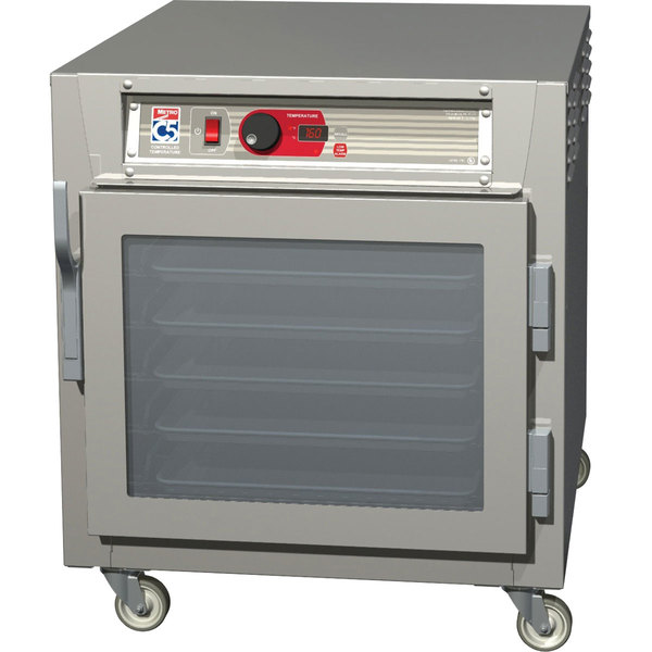 Metro C583L-NFC-U C5 8 Series Undercounter Reach-In Heated Holding Cabinet - Clear Door Main Image 1