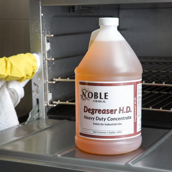 Noble Chemical 1 Gallon / 128 oz. Heavy Duty Degreaser - 4/Case
