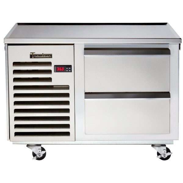"""Traulsen TE036HT 2 Drawer 36"""" Refrigerated Chef Base - Specification Line"""