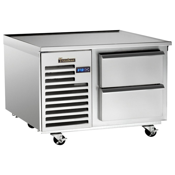 """Traulsen TE036HT 2 Drawer 36"""" Refrigerated Chef Base - Specification Line Main Image 1"""