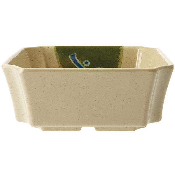 GET 149-TD Japanese Traditional 16 oz. Rectangular Dish - 12/Case