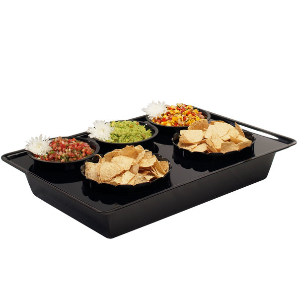 "Cal-Mil 728-13 Salad Bar Food Station - 26"" x 18"" x 4"" Main Image 1"