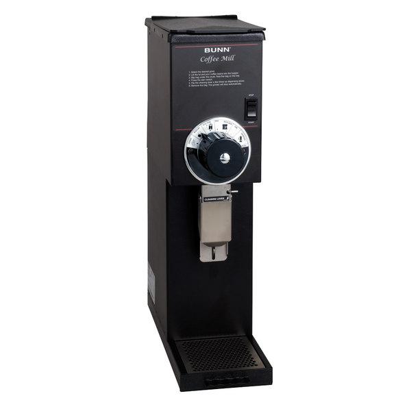Bunn 22102.0000 G2 HD 2 lb. Black Bulk Coffee Grinder