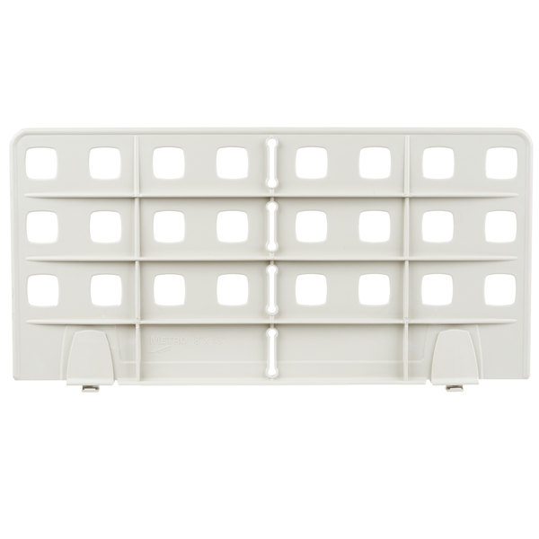 """Metro MUD18-8 18"""" Universal Shelf Divider for Open Grid and Wire Shelves"""