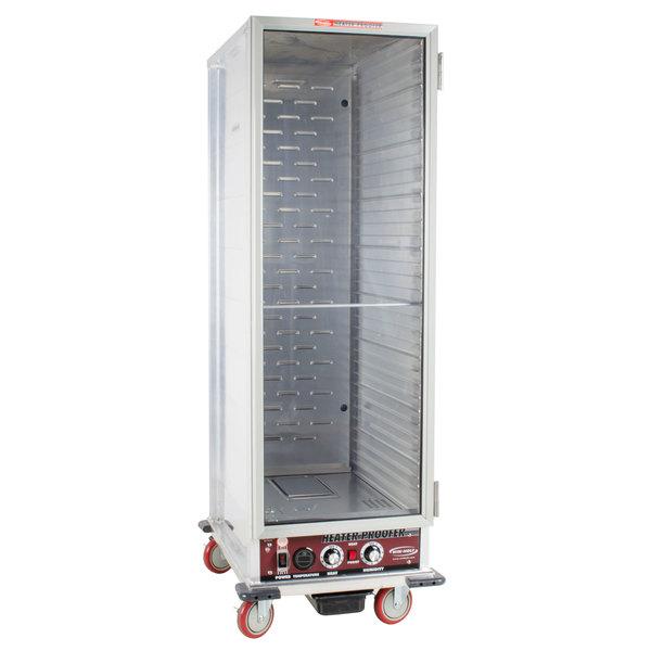 winholt nhpl-1836 heater / proofer mobile cabinet clear door - 120v