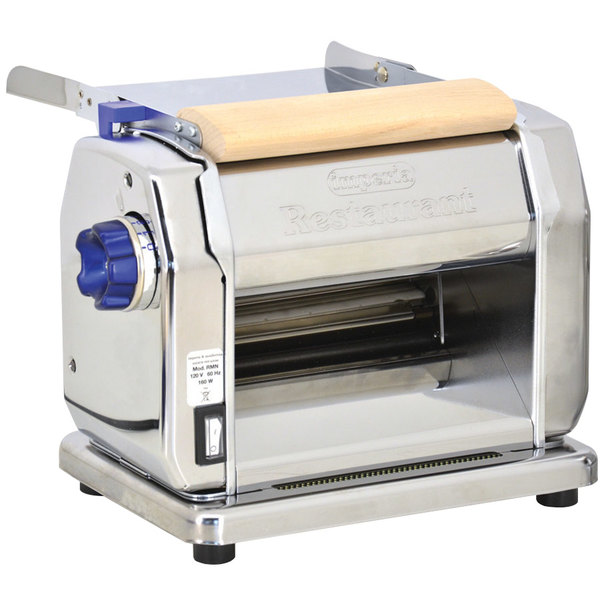 "Imperia Electric Stainless Steel 8 1/4"" Pasta Machine"