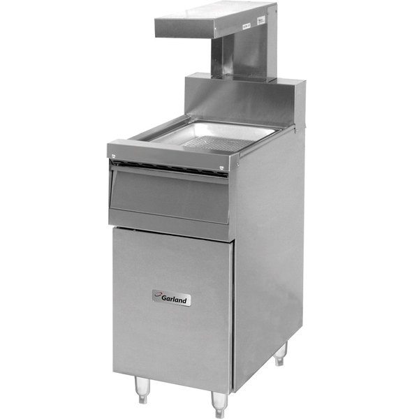 """Garland S680-18FM-EH Sentry Series Range Match 18"""" Fry Holding Station with Heat Lamp - 120V"""
