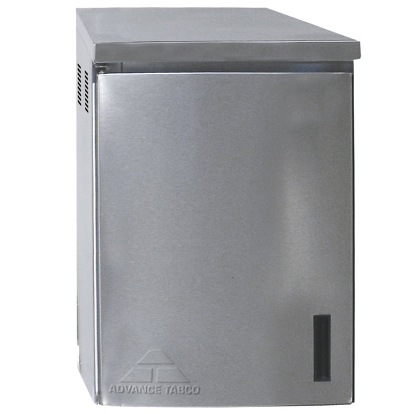 "Advance Tabco WCH-15-24-300 24"" Type 300 Stainless Steel Wall Mounted Chemical Storage Cabinet"