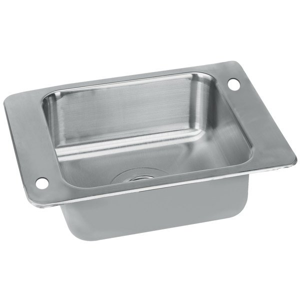 """Advance Tabco SCH-1-2317 1 Bowl Stainless Steel Drop-In Classroom Sink - 23"""" x 17"""""""