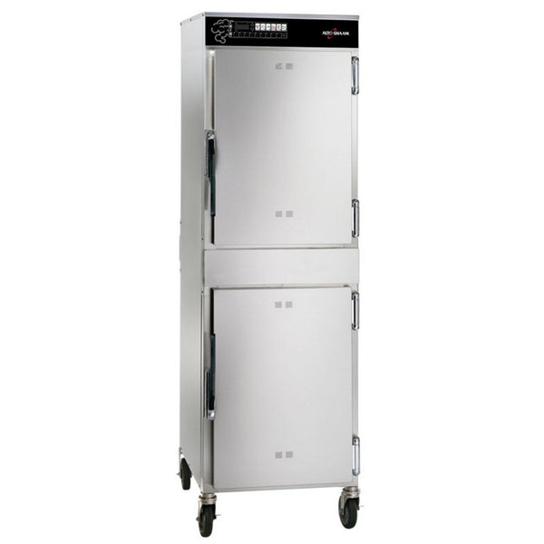 Alto-Shaam 1200-SK/III Full Height Stainless Steel Low Temperature Cook and Hold Smoker Oven with Deluxe Controls - 240V, 8.7 kW