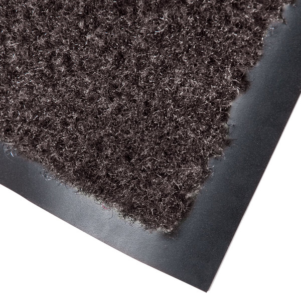 "Cactus Mat 1437M-B35 Catalina Standard-Duty 3' x 5' Brown Olefin Carpet Entrance Floor Mat - 5/16"" Thick"