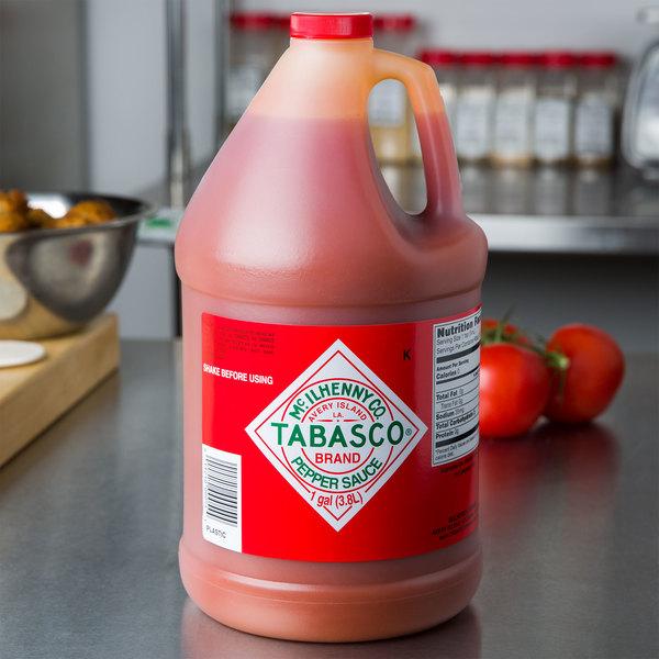 TABASCO® 1 Gallon Original Hot Sauce - 4/Case Main Image 3