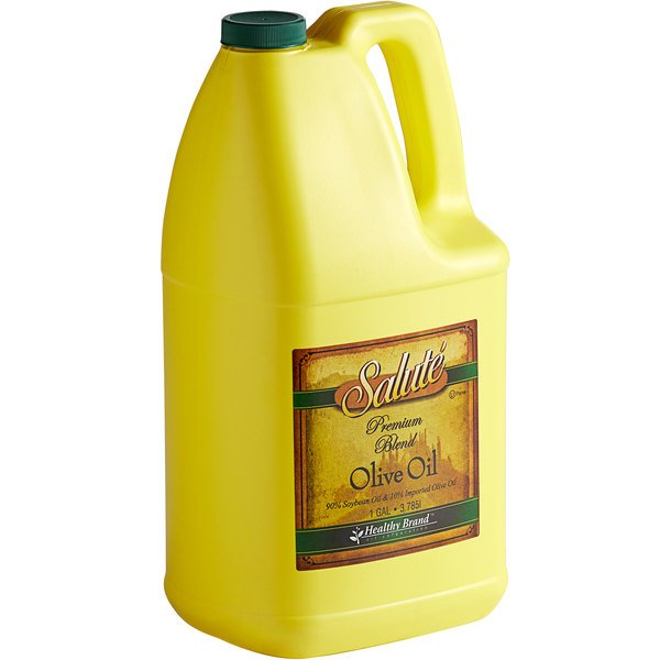 1 Gallon 90% Soybean Oil and 10% Olive Oil Blend - 6/Case Main Image 1