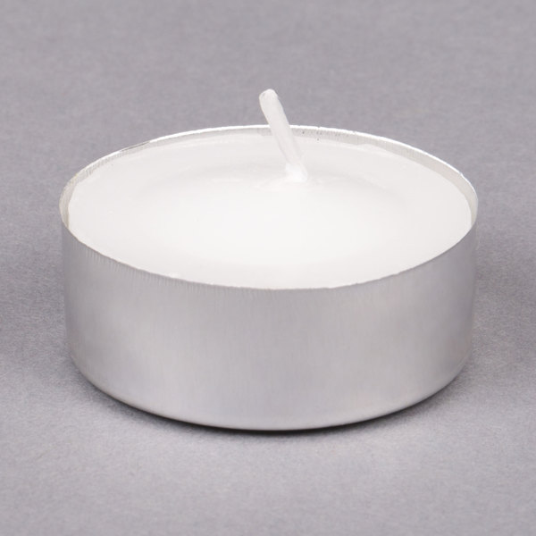 Choice 3 Hour Tea Light / Votive Candle - 50/Pack