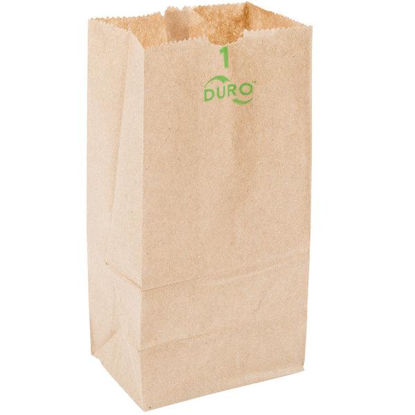 Duro 1 Lb Brown Paper Bag 500 Bundle