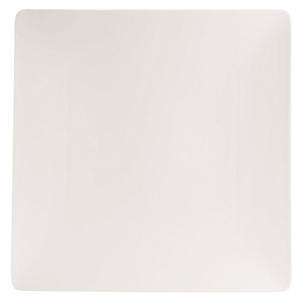 """Chef & Sommelier S1010 Purity 11 1/8"""" White Square Plate by Arc Cardinal - 12/Case"""