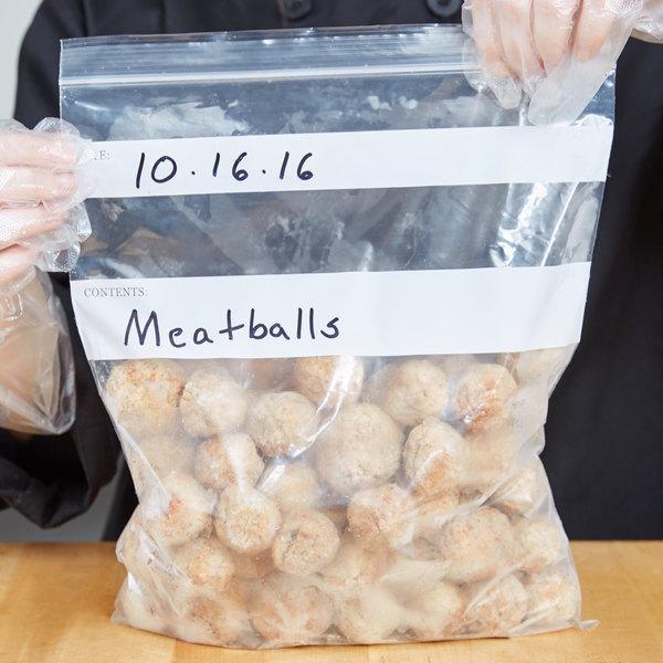 """12"""" x 10"""" Standard Weight 1 Gallon Seal Top Bag - 250/Pack"""
