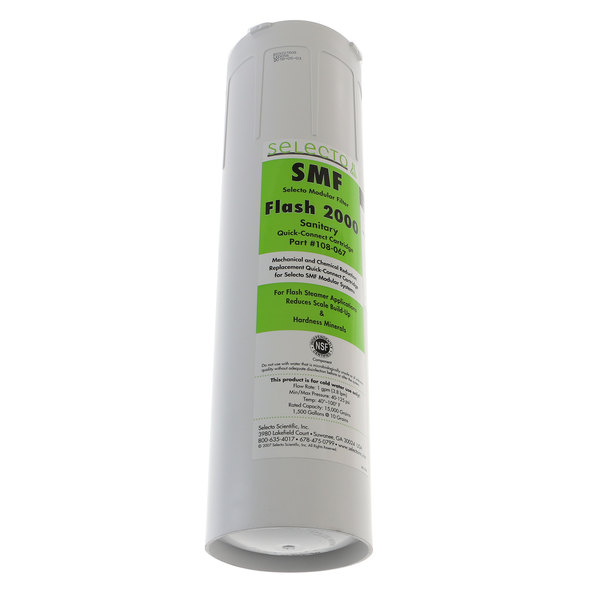 Selecto Filter 108-067 Resin/Ic Cartridge, 20 In Smf