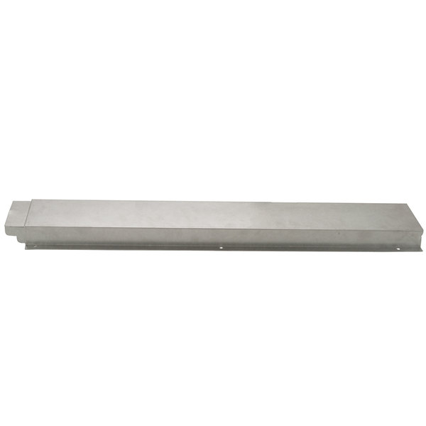 APW Wyott 32010526 Stainless Steel Solid Tray Slide for 3 Well Sealed Element Steam Table Main Image 1