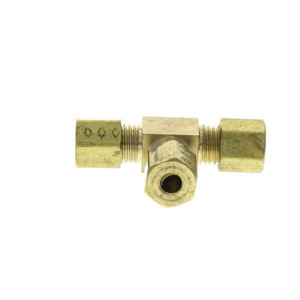 Garland / US Range 228170 Tee, Brass 3/16incomp. #64-3.