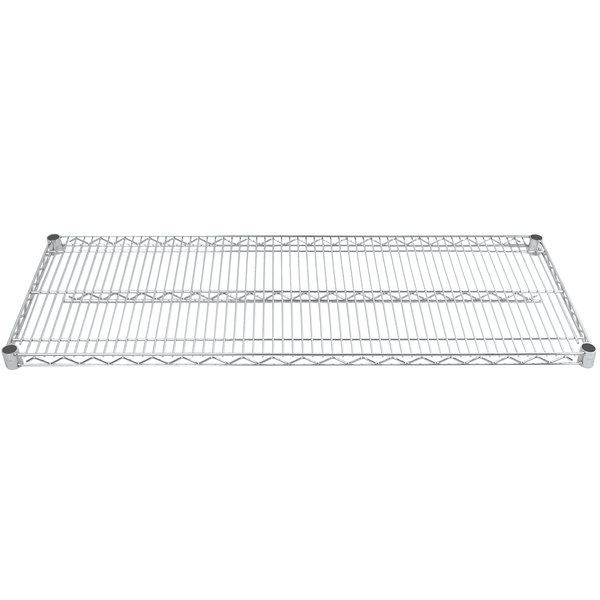 "Advance Tabco EC-2160 21"" x 60"" Chrome Wire Shelf"