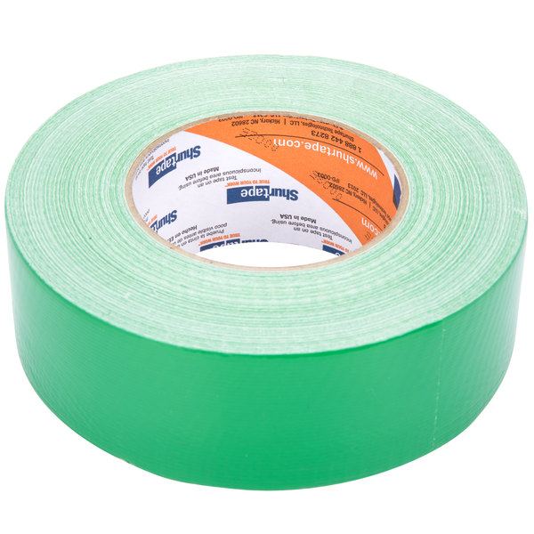 """Green Duct Tape 2"""" x 60 Yards (48 mm x 55 m) - General Purpose High Tack"""