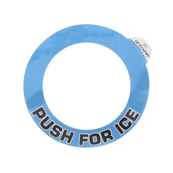Hoshizaki 4A2472-01 Label-Push