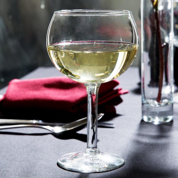 Libbey 8415 Citation Gourmet 13.75 oz. Round Wine Glass - 12/Case Main Image 9