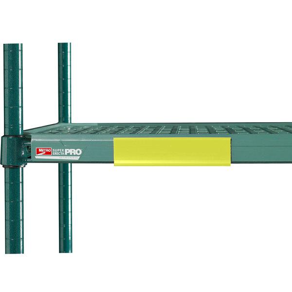 Metro CSM6-YQ Yellow Shelf Markers