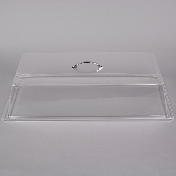 Carlisle SC2707 12 inch x 20 inch x 4 inch Rectangular Pastry Tray Cover