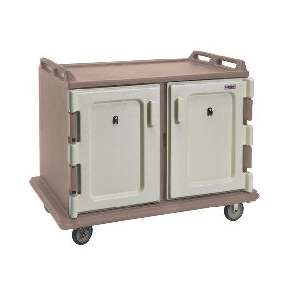 Cambro MDC1520S20194 Granite Sand Meal Delivery Cart 20 Tray Main Image 1