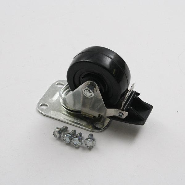 """Glastender 06001559 4"""" Caster W/ Brake Main Image 1"""
