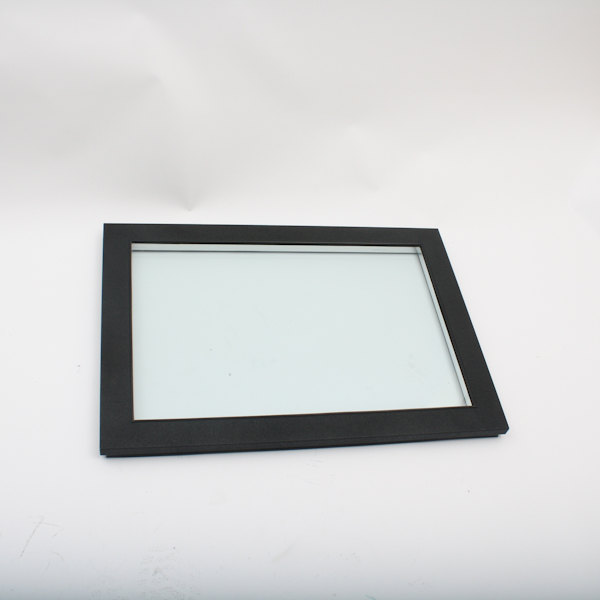 Glastender 06001597 Glass Door, Black Vinyl Frame Main Image 1