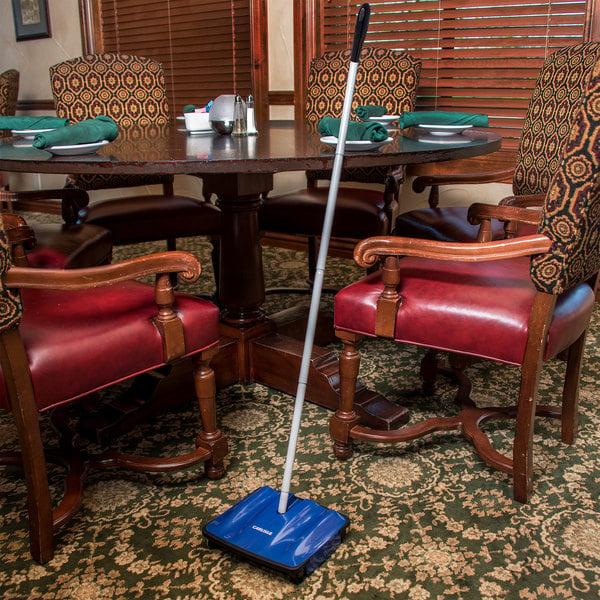 "Carlisle 3639914 9 1/2"" Duo-Sweeper Multi-Surface Floor Sweeper Main Image 8"