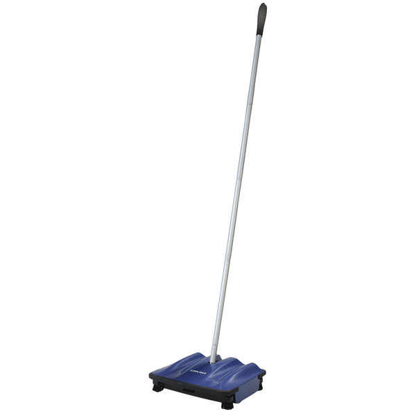 Carlisle 3639914 9 1/2 inch Duo-Sweeper Multi-Surface Floor Sweeper