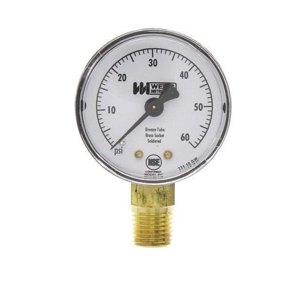 Jet Tech 16048 Pressure Gauge