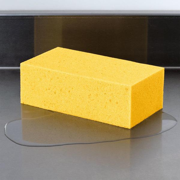 """Carlisle 36550100 Flo-Pac 8 1/4"""" x 4 1/4"""" Extra Large Sponge"""