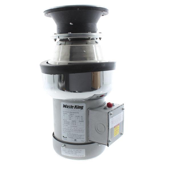 Waste King 1000-3 1hp 3ph Disposal