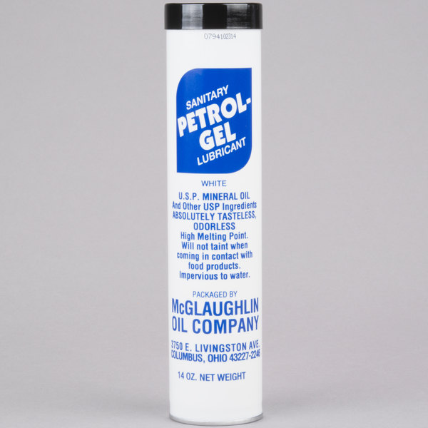 Petrol-Gel Sanitary Lubricant, 14 oz. Cartridge