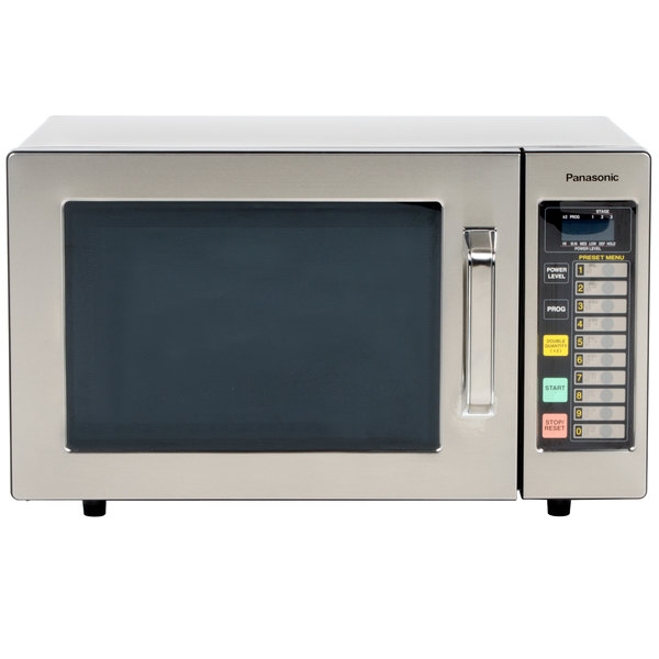 Panasonic NE 1064F Stainless Steel Commercial Microwave Oven