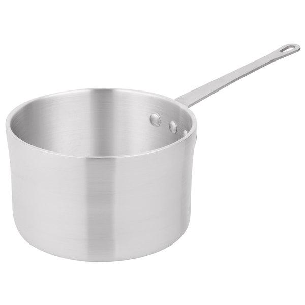 5 Qt. Heavy-Duty Aluminum Straight Sided Sauce Pan