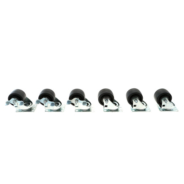 Silver King 10314-91 Casters (Set Of 6)
