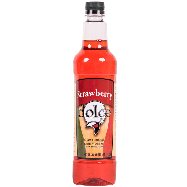 Dolce Strawberry Coffee Flavoring / Fruit Syrup