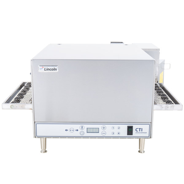 """Lincoln 2501/1353 2500 Series Countertop Impinger (DCTI) Electric Conveyor Oven with Digital Controls and Standard 31"""" Belt - 208V, 6 kW"""