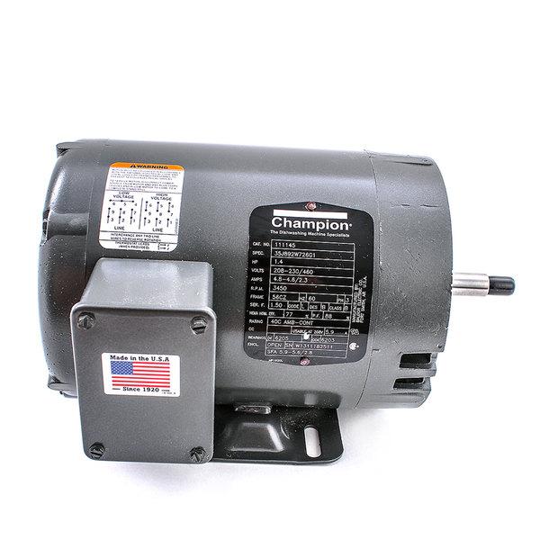 Champion 115581 Motor 1.4hp Mv/60/3 Door - Tefc