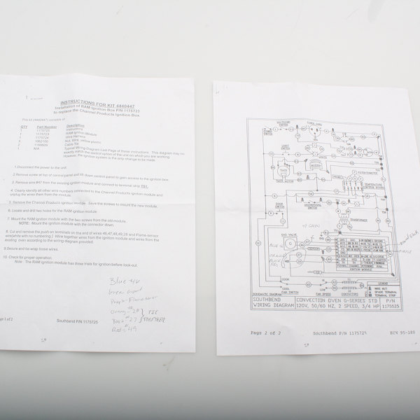 Southbend 1175725 Instructions, Ram Ignition Main Image 1