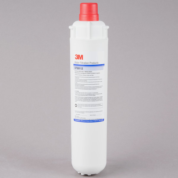 """3M Water Filtration Products CFS9112 14 3/8"""" Retrofit Sediment, Chlorine Taste and Odor Reduction Cartridge - 1 Micron and 1.5 GPM"""